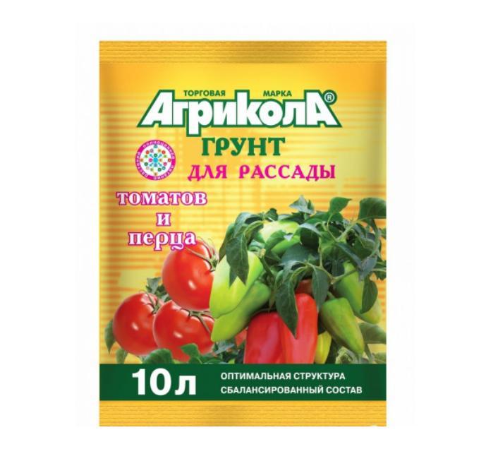 Агрикола ГРУНТ д/ТОМАТОВ,ПЕРЦЕВ 10л