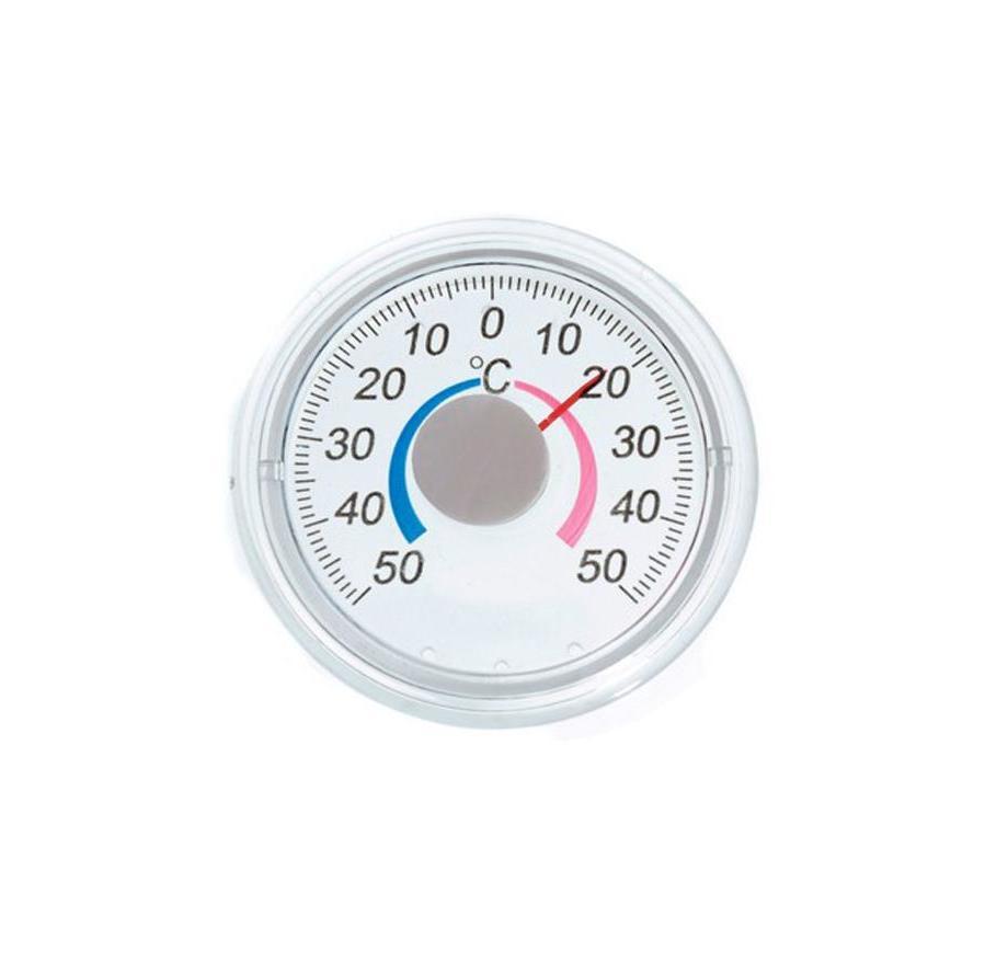 Термометр биметалический круглый