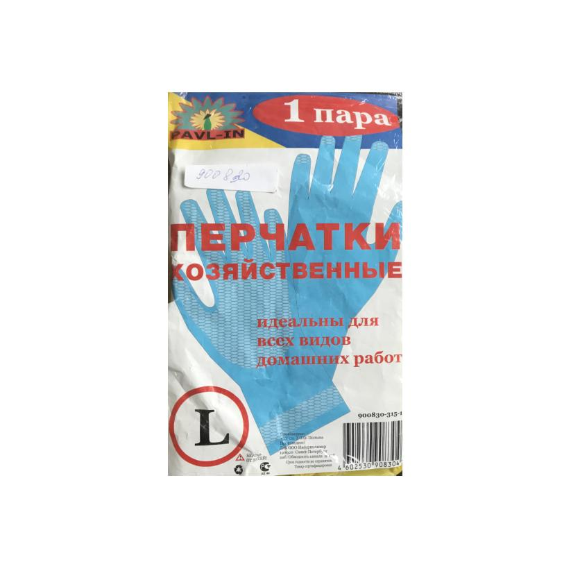 PAVL-IN перчатки резиновые 25пар L