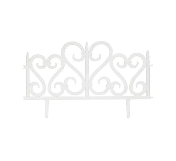 Садов. ограждение АЖУРНОЕ 4шт 240см БЕЛЫЙ