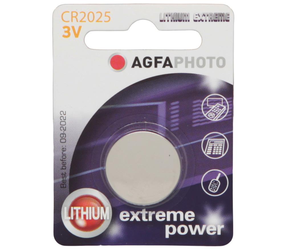 agfafoto литевая батарейка cr2025 3v